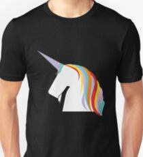 Unicorn Farben cool Unisex T-Shirt