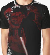 Minimalist Darth Vader Graphic T-Shirt