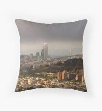 San Francisco From Bernal Heights Throw Pillow