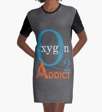 O2 Addict Graphic T-Shirt Dress