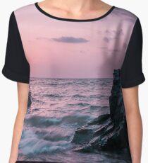 Sunset Seascape Chiffon Top
