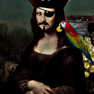 Mona Lisa Pirate Captain by Gravityx9