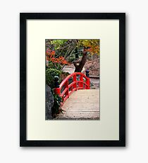 Over Framed Print