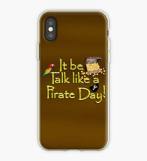 Pirate Talk Text - IT Be Talk Like a Pirate Day! iPhone Case