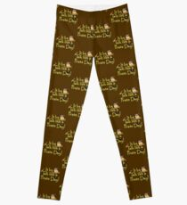 Pirate Talk Text - IT Be Talk Like a Pirate Day! Leggings