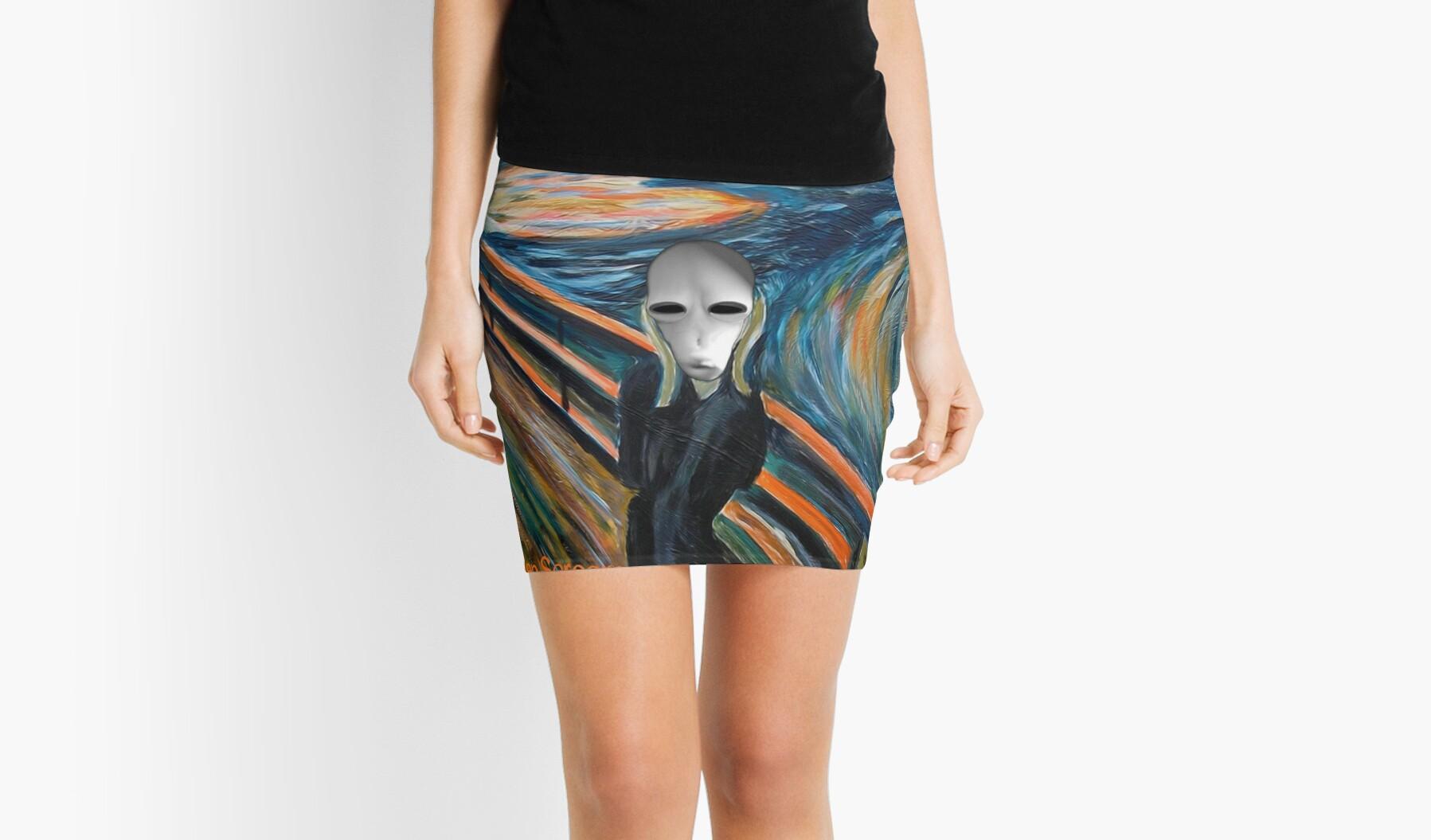 Alien Scream by EyeMagined