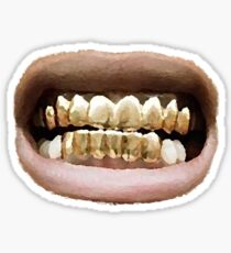 Grillz Sticker