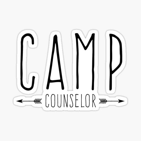 CAMP COUNSELOR Sticker