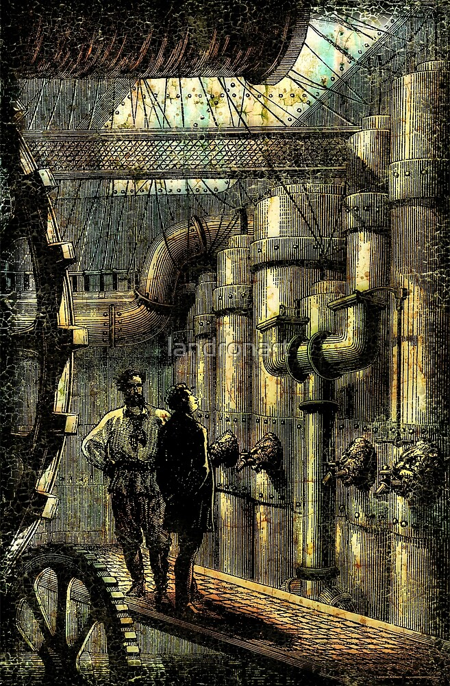 Nautilus Engine Room - by Landron Artifacts by landronart