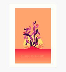 Branches and Buckhorn Art Print