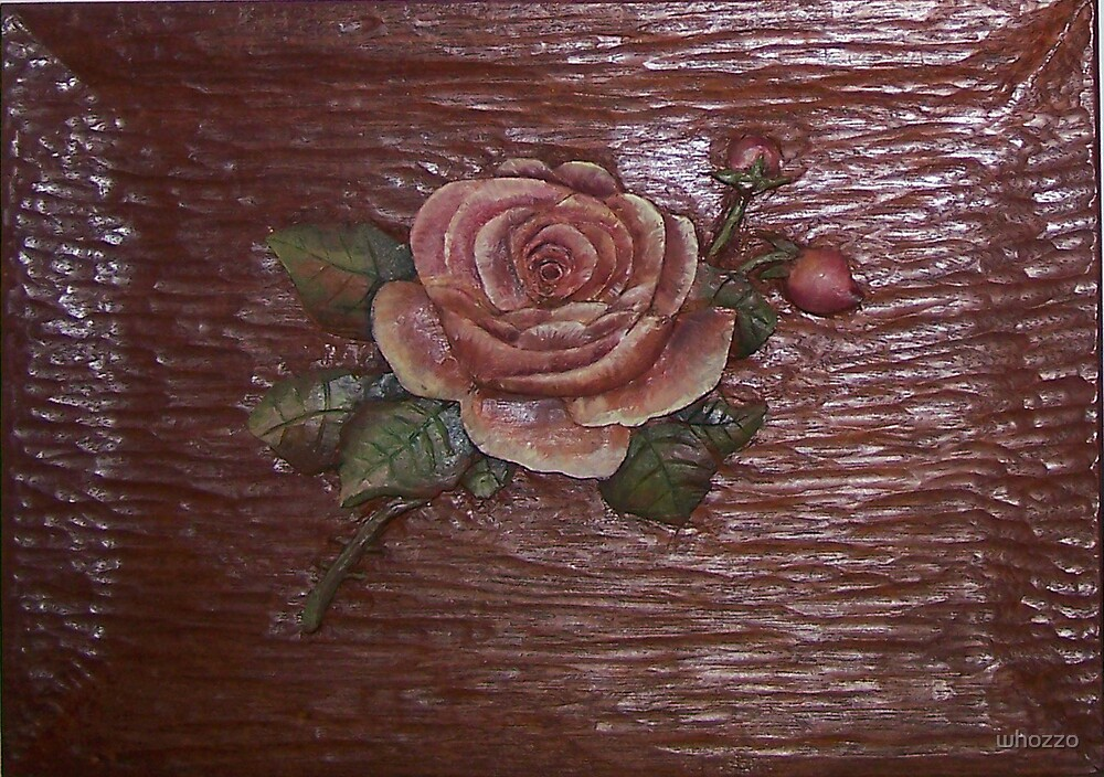 Wood Flower by whozzo