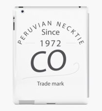 PURVIAN NECKTIE CO - SINCE 1972 iPad Case/Skin