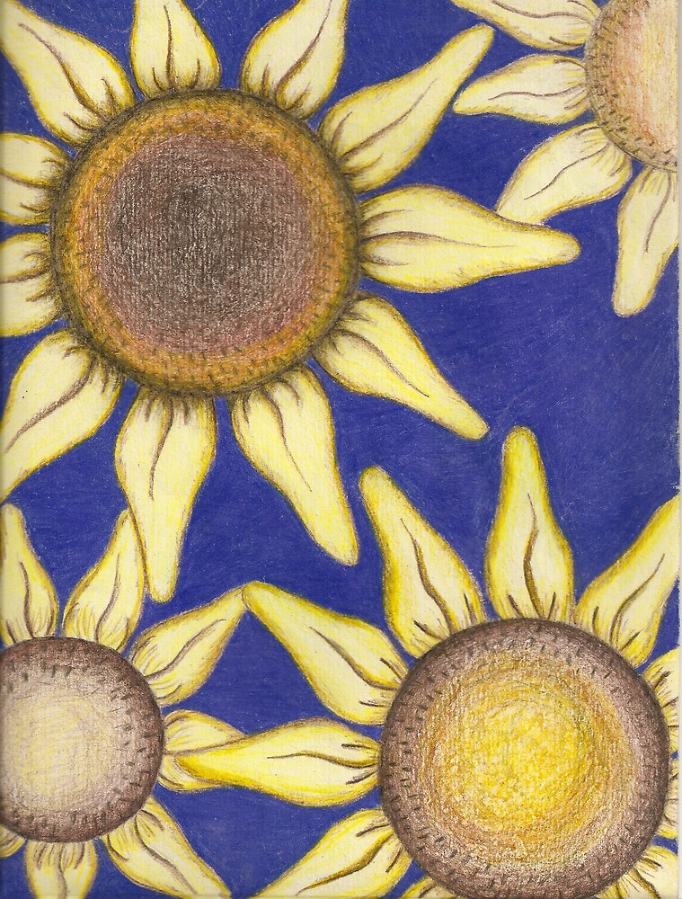 Sunflowers by Juanita Bishop