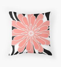 Coral flower . Throw Pillow