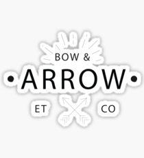 Bow & Arrow Export Trading Company Sticker