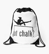 got chalk? Drawstring Bag