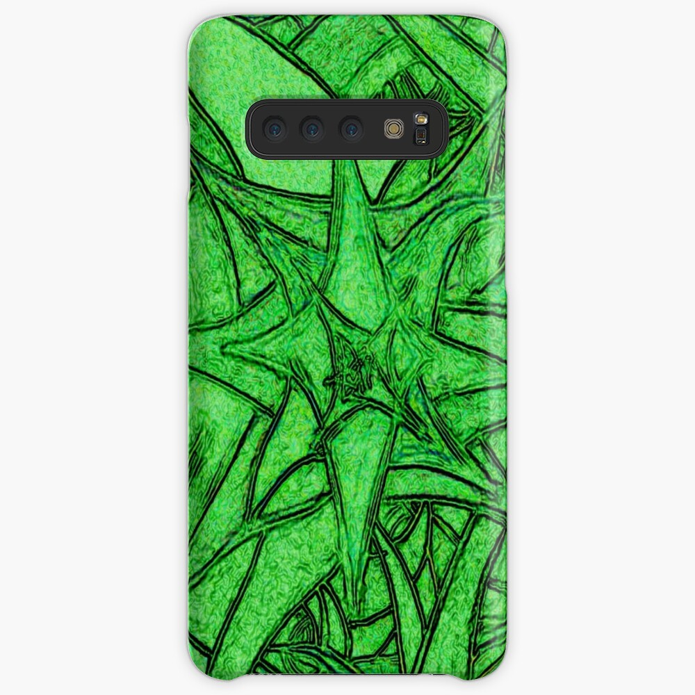Unknown Internal Vision [Abstract #53] GREEN Samsung Galaxy Snap Case