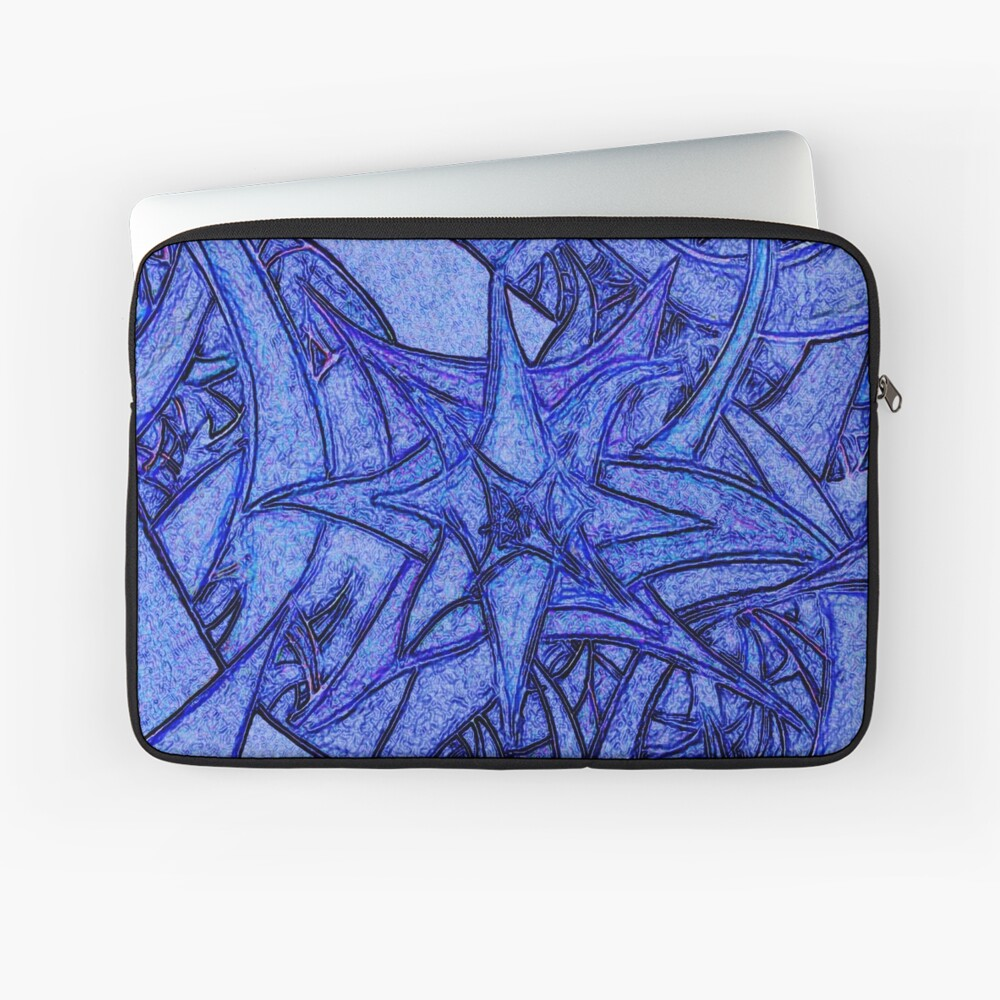 Unknown Internal Vision [Abstract #52] BLUE Laptop Sleeve
