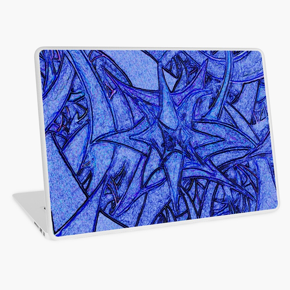 Unknown Internal Vision [Abstract #52] BLUE Laptop Skin