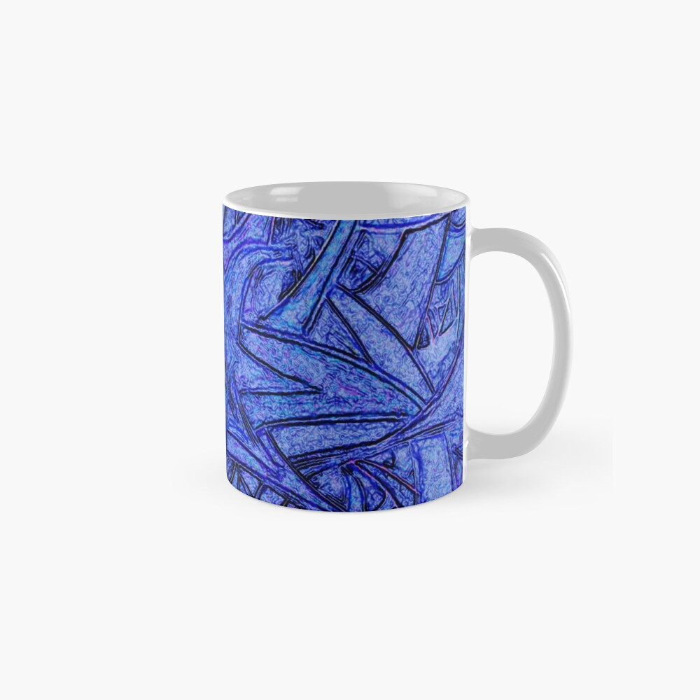 Unknown Internal Vision [Abstract #52] BLUE Classic Mug