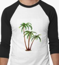 Triple 'Tree't - Palms Men's Baseball ¾ T-Shirt
