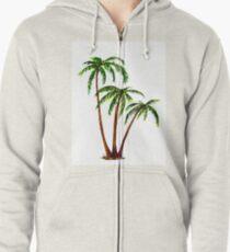 Triple 'Tree't - Palms Zipped Hoodie