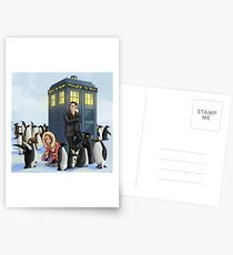 Doctor Daddy Penguin Postcards