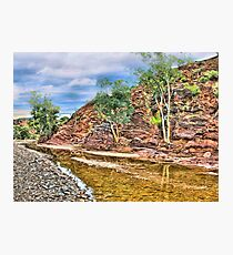Rocks at Brachina Gorge, Flinders Ranges, Sth Australia Photographic Print