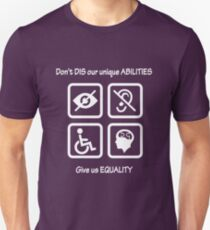 Equality for People with Disabilities T-Shirt