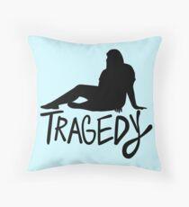Tragedy Throw Pillow