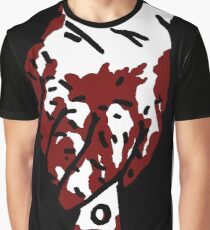 Bloody Knife Graphic T-Shirt