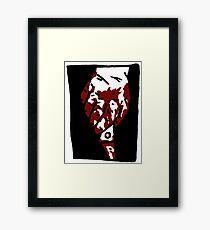 Bloody Knife Framed Print