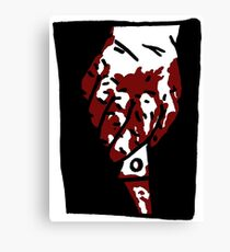 Bloody Knife Canvas Print