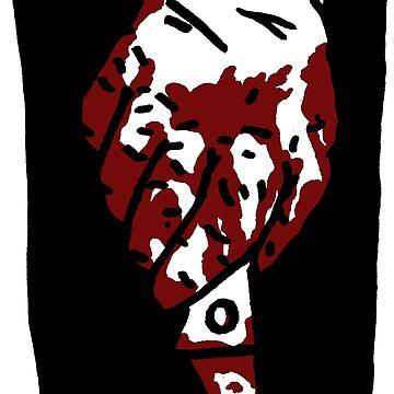 Bloody Knife by goatgraff