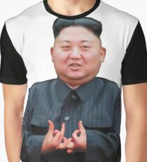 Kim Jong Izz-Ung Graphic T-Shirt