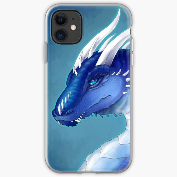 Blue Dragon- Saphira iPhone Soft Case