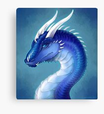 Blue Dragon- Saphira Canvas Print