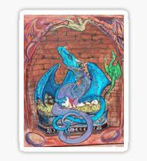 Dragon Family Sticker