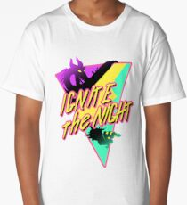 a night of neon dreams Long T-Shirt