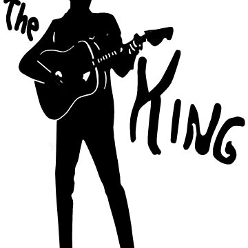 the king of rock t-shirt by parko