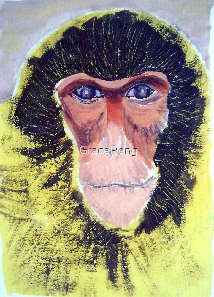Monkey by GracePeng