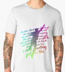 QUOTES OF COLDPLAY Men's Premium T-Shirt