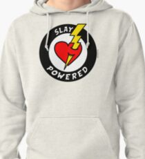 """State Of Slay """"Slay Powered"""" - To Benefit Battered Women Support Services (Red) Pullover Hoodie"""