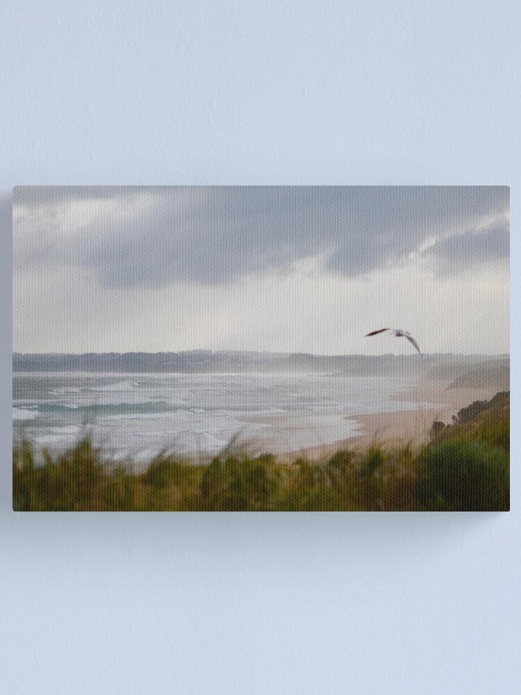 Alternate view of Wild Bass Strait Canvas Print