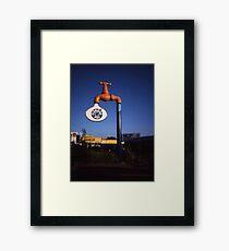 Big Tap,Maroochydore,Qld,Australia 2000 Framed Print
