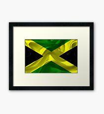 Jamaican Flag Framed Print