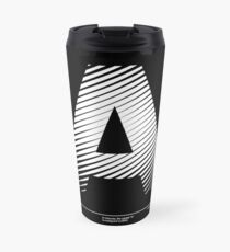 The letter A Travel Mug