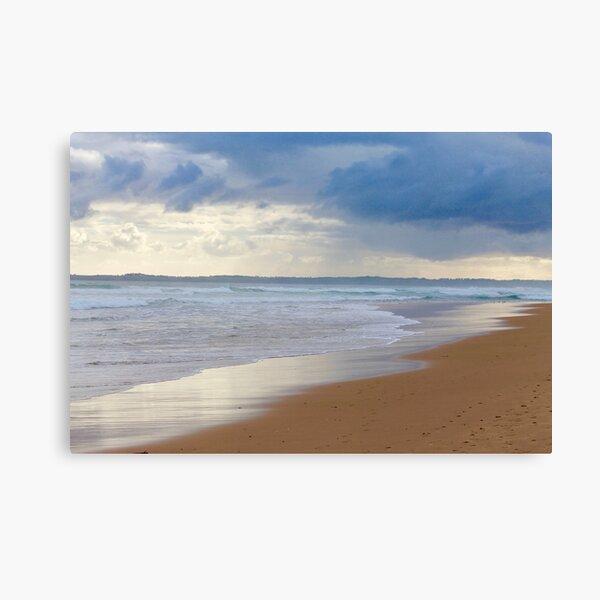 Silvery Cape Canvas Print