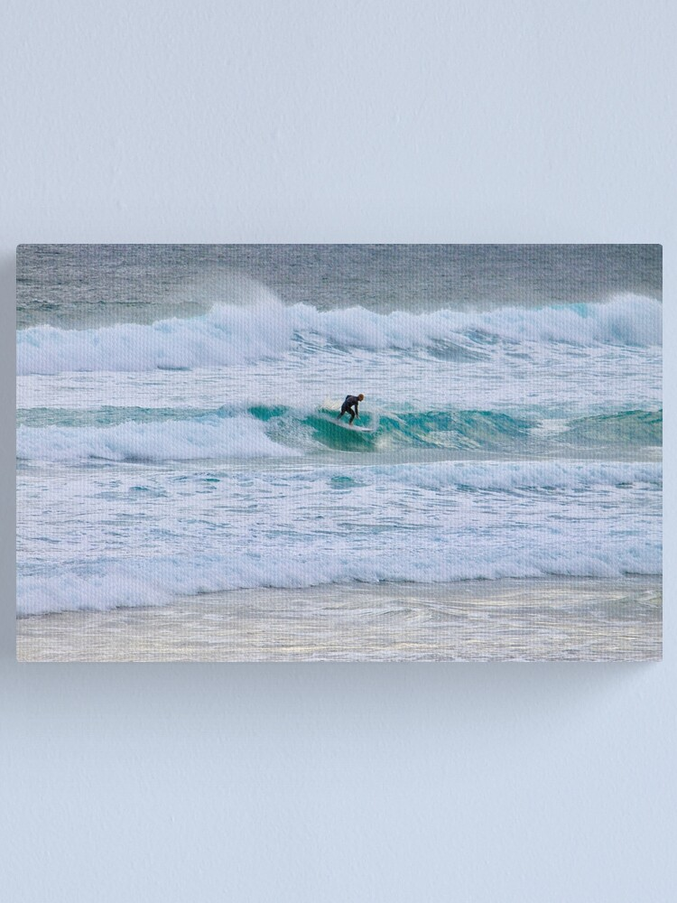 Alternate view of Evening Surfer Canvas Print
