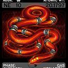Scygon Elemental Card #3: Neon by Lucieniibi
